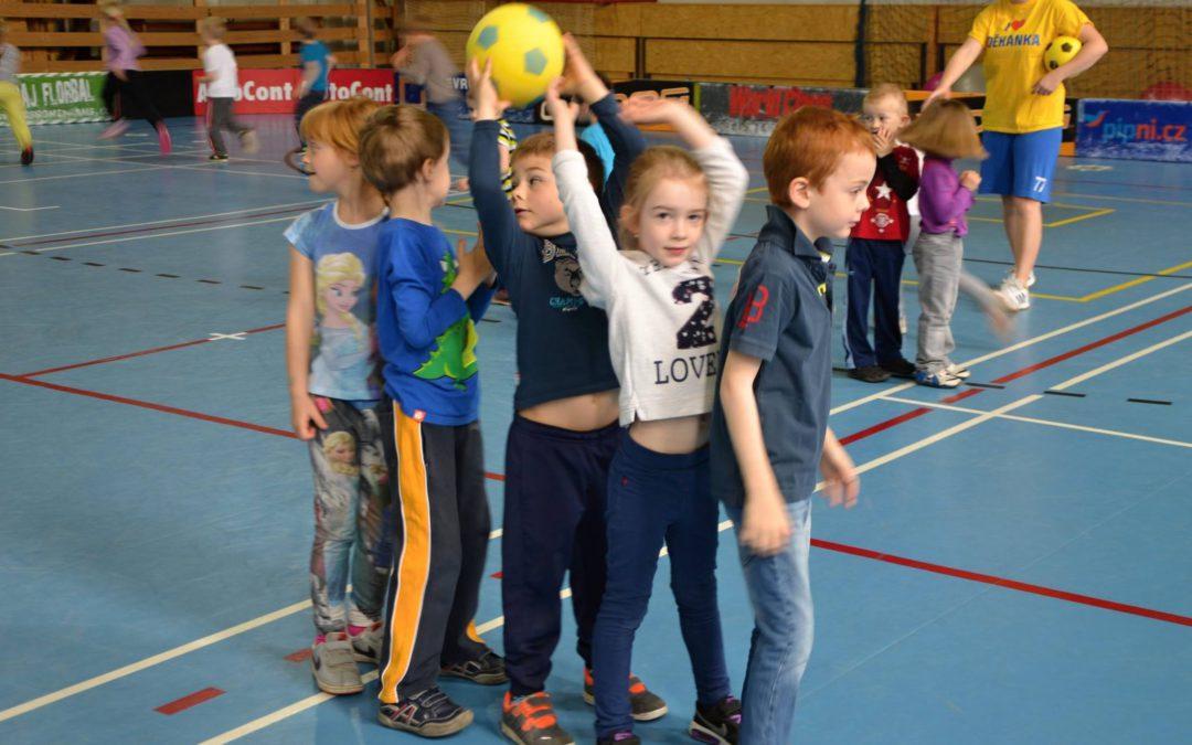 Předškoláci v pohybu – Mateřská škola 4 pastelky Sedlčanská