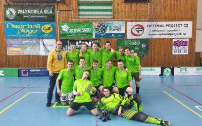 Vítězem finále chlapců se stala Špitálská!